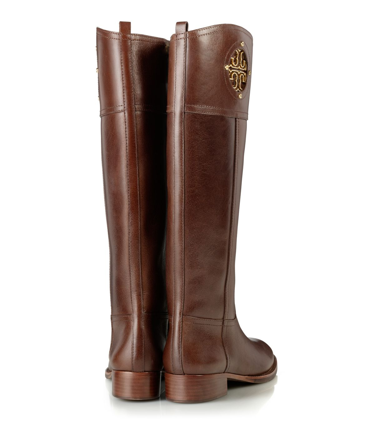 Tory burch Kiernan Riding Boot in Brown | Lyst