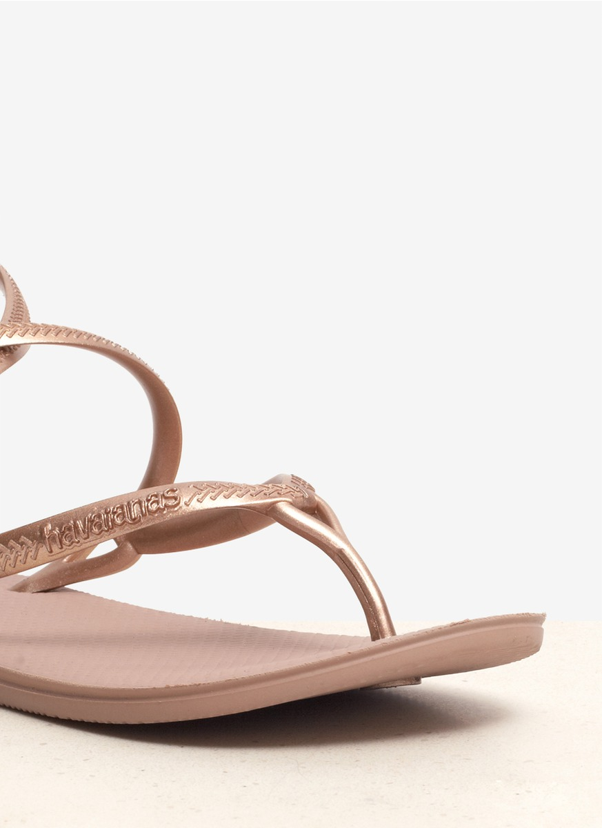 67b7aa01574 Lyst - Havaianas Grace Strappy Sandals