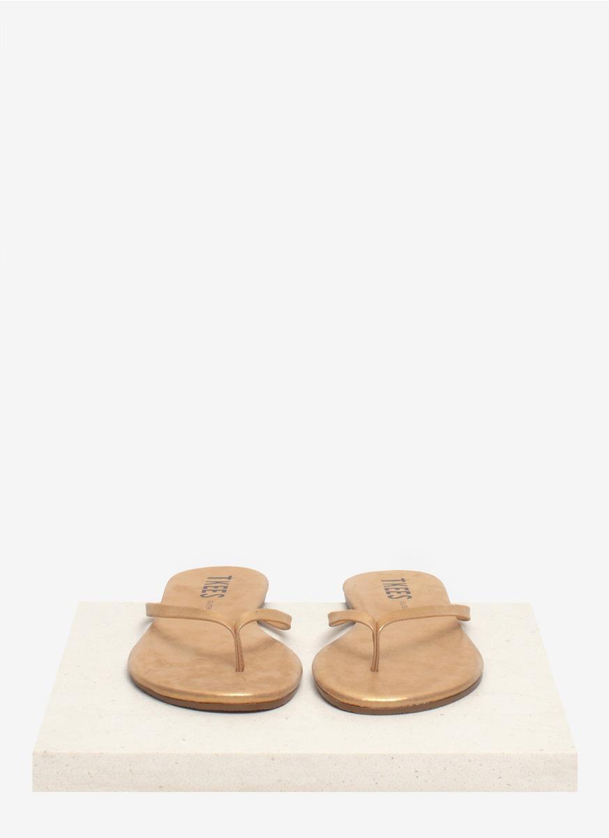 Lyst - Tkees Glitter Sandbeam Leather Flip-Flops In Brown-5882