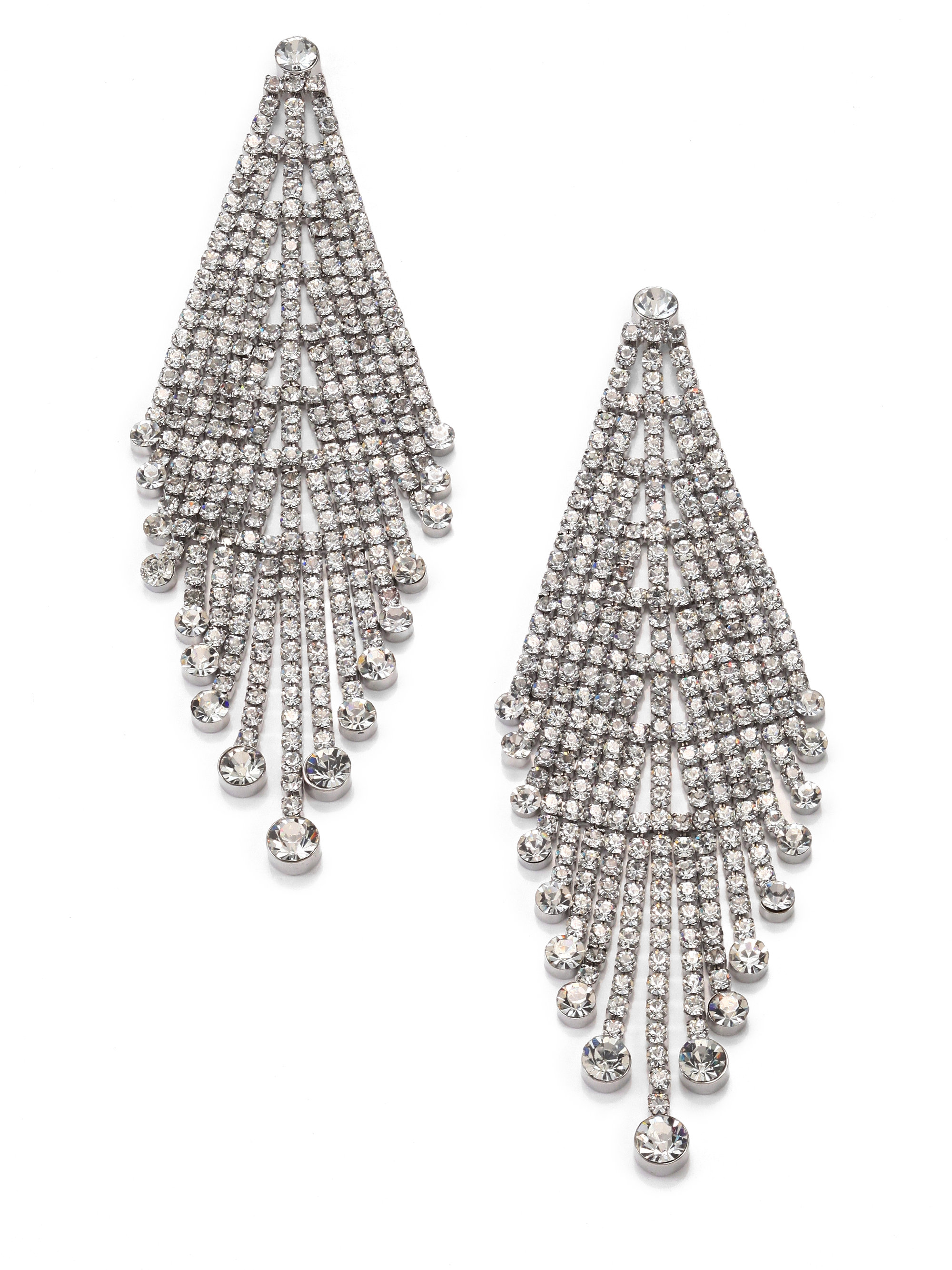 sparkly rhinestone alternative htm shamelessly drops poppy p statement earrings views by drop aztec