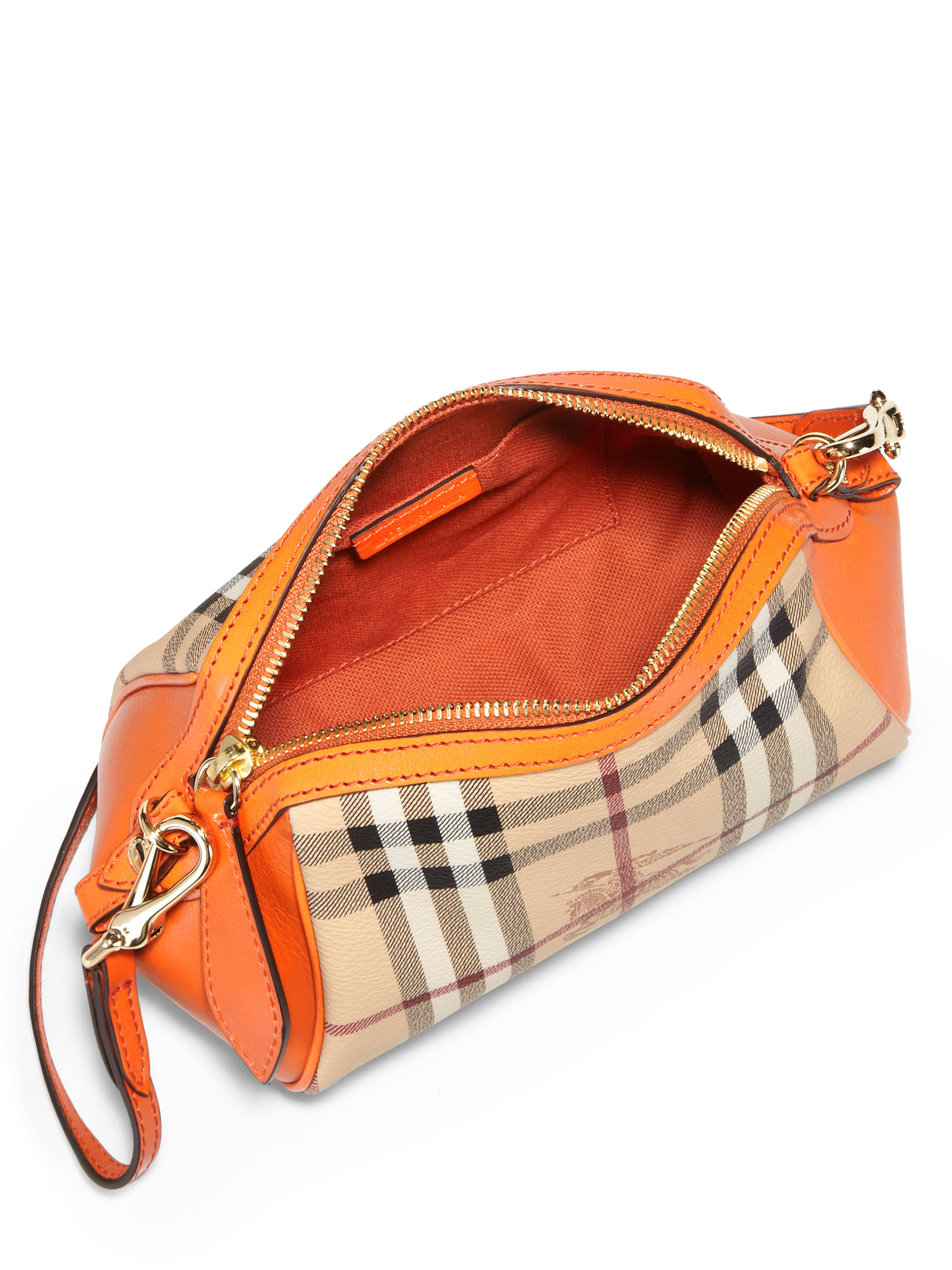 Burberry Crossbody Bag Orange