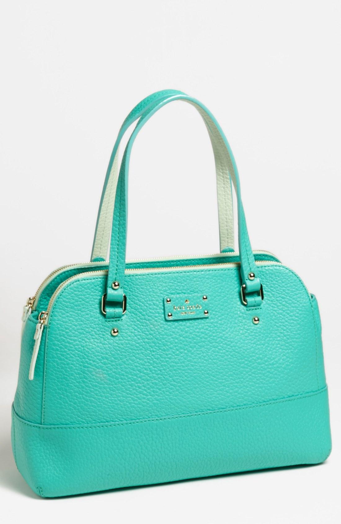 Kate Spade Blue Grove Court Lainey Shoulder Bag 43