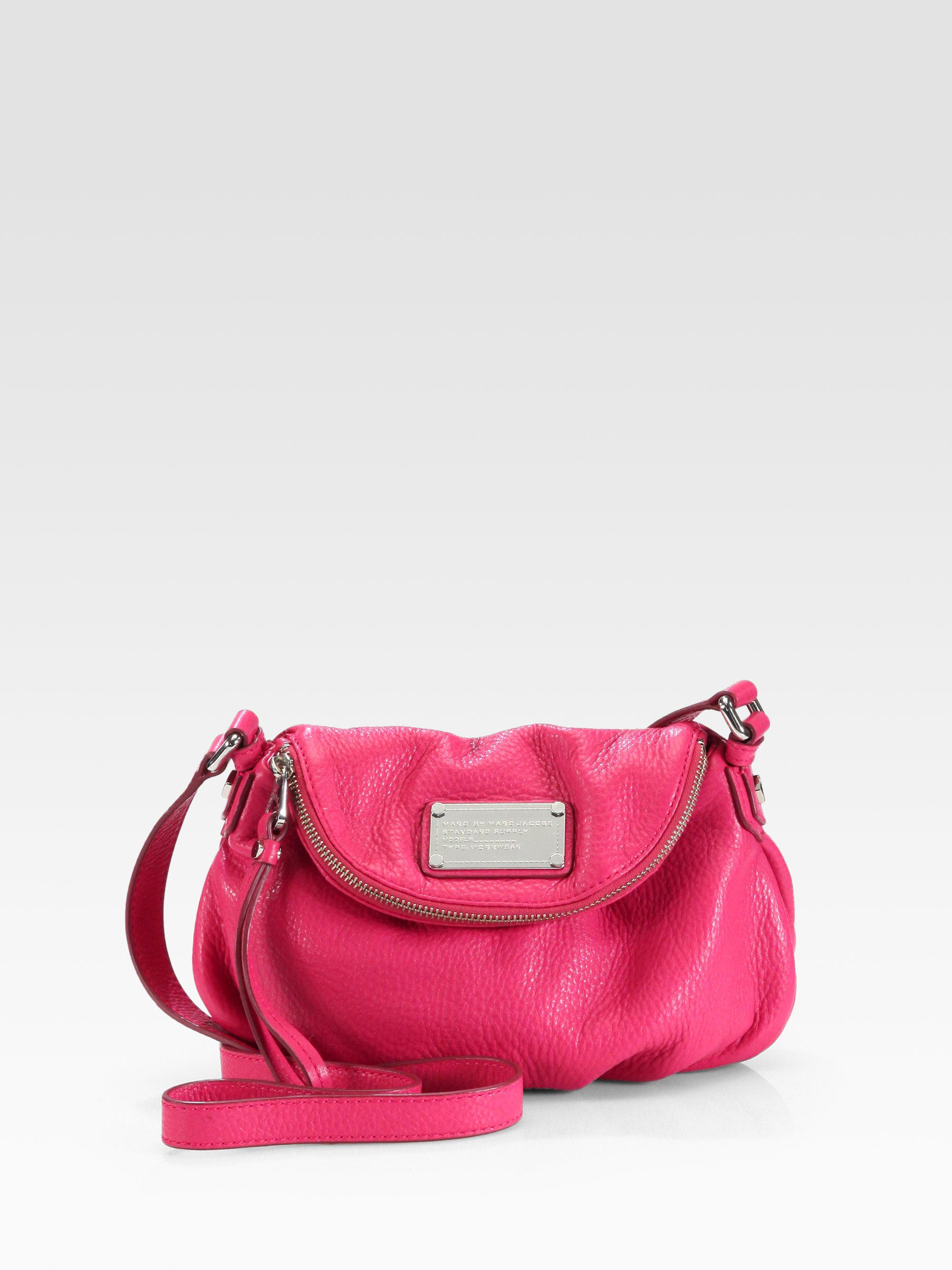 3a349f4d366a7 Marc By Marc Jacobs Classic Q Mini Natasha Shoulder Bag in Pink - Lyst