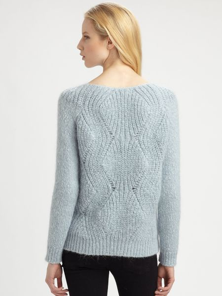 Mohair Sweaters Pictures Air Mohair Sweater in Blue
