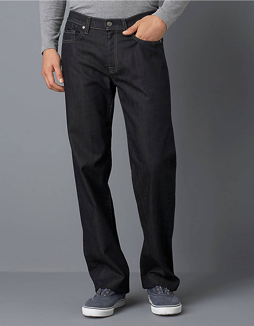 3835d3e89c39 7 For All Mankind Chester Row Wash Jeans in Blue for Men - Lyst