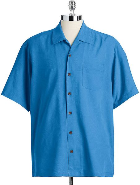 Tommy Bahama Bird It Through The Grape Vine Silk Shirt In