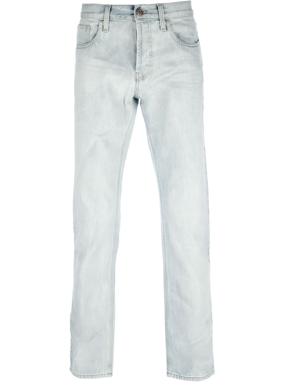 Lyst Gucci Stone Washed Jeans In Blue For Men