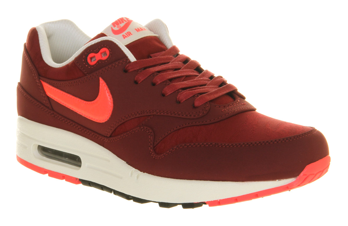 best loved af3d0 12c2b Nike Air Max 1 Team Red Atomic Red Camo in Red for Men - Lyst
