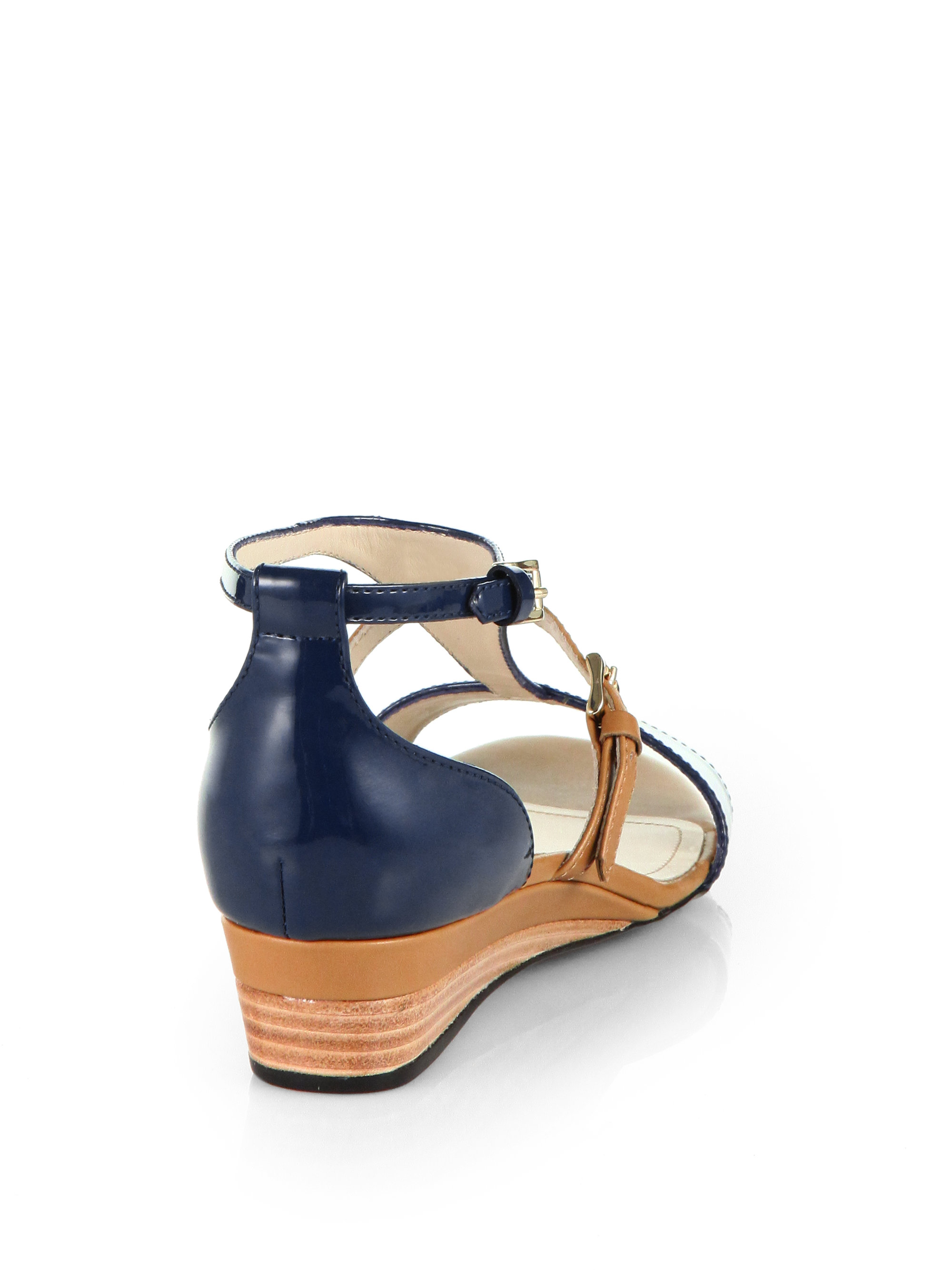 cheap best prices geniue stockist cheap price Tod's Suede T-Strap Sandals hot sale online 2cmCT