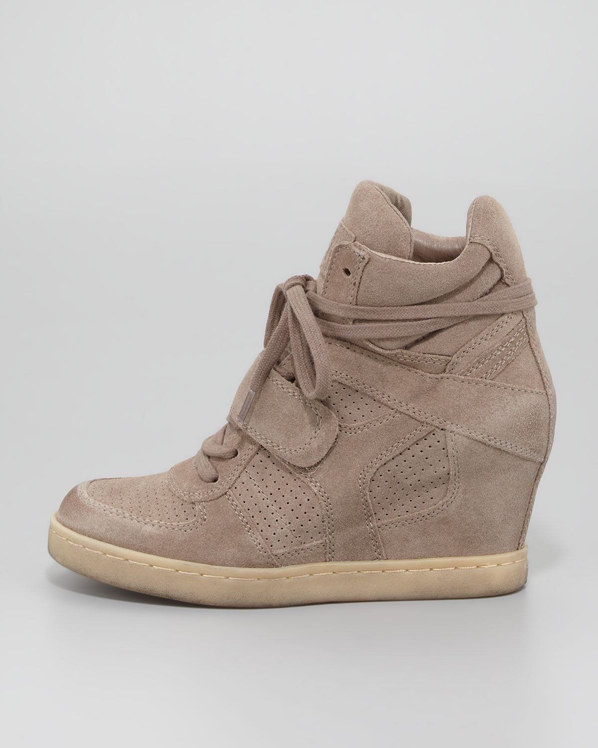 ccd34b21952 Gallery. Previously sold at  Neiman Marcus · Women s Wedge Sneakers Women s  Ash ...