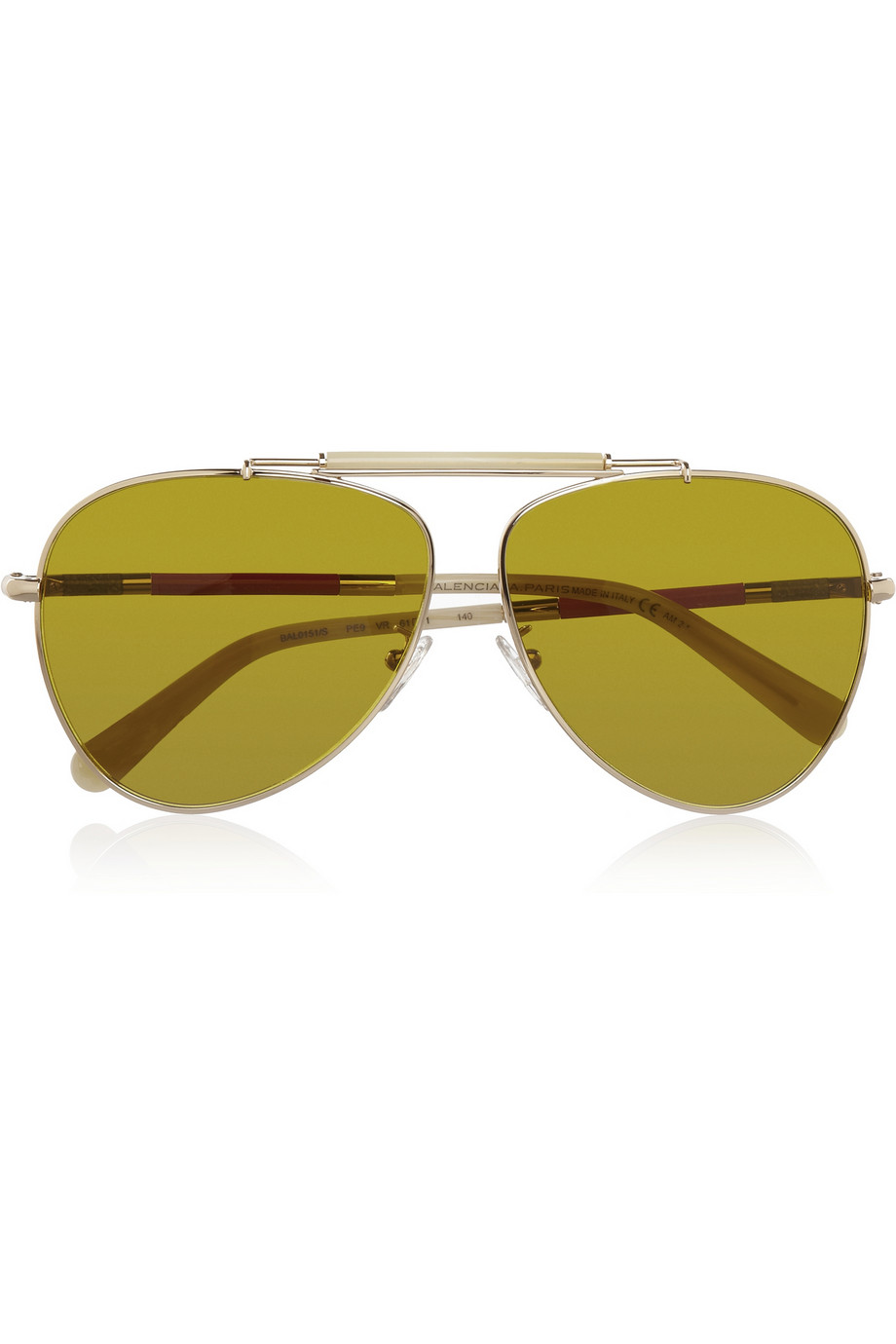 Aviator-Style Metal Sunglasses Balenciaga Low Price Fee Shipping Wiki Online Free Shipping Cheap Price HLRc5