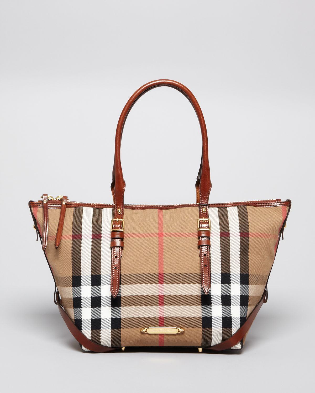 Lyst - Burberry Tote Small Salisbury in Brown da2e25dfa8813