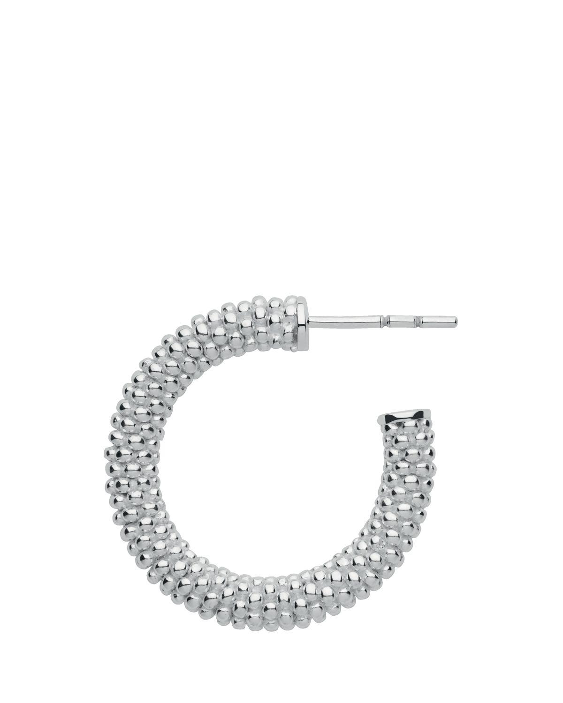 9980e1349 Links of London Effervescence Xs Sterling Silver Hoop Earrings in ...