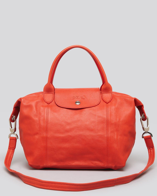 Longchamp Le Pliage Cuir Sale