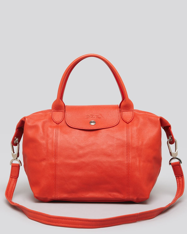 Lyst Longchamp Shoulder Bag Le Pliage Leather Cuir Small