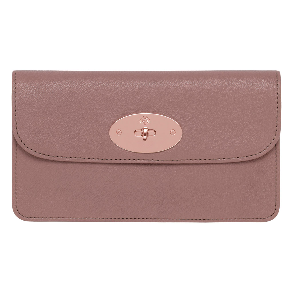 1cbd8b19e3 ... order mulberry long locked purse in pink lyst 31183 06e33