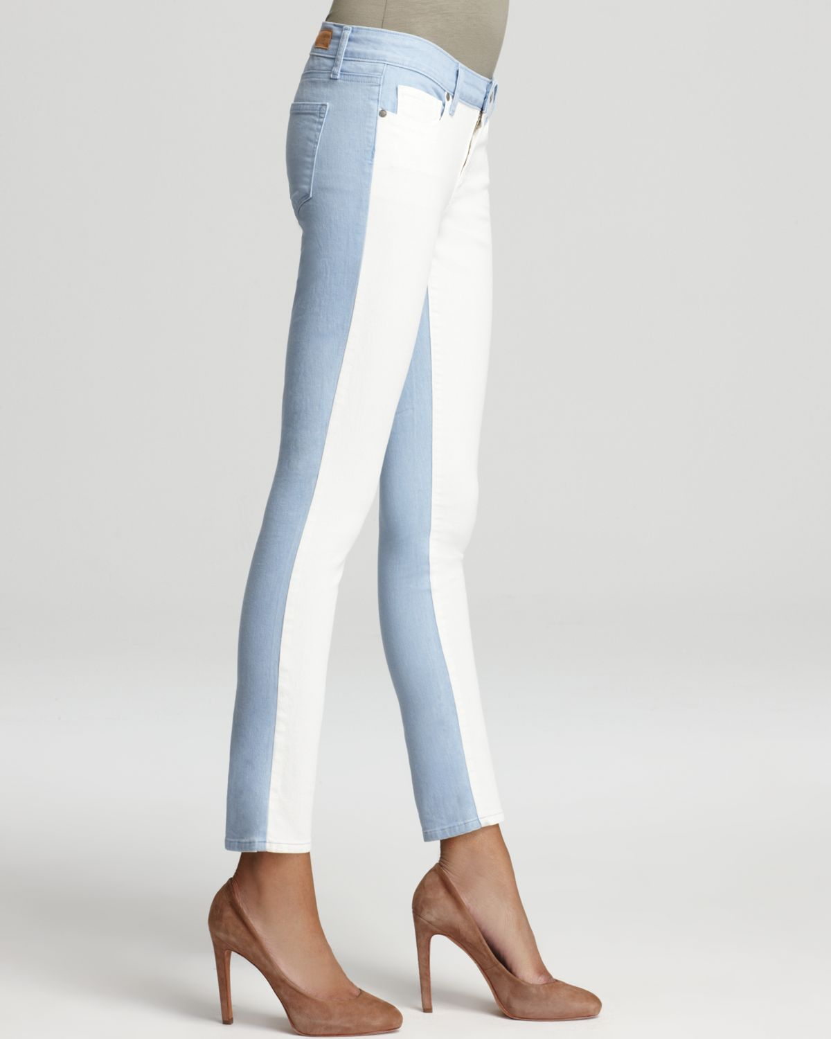 Hot Sale Online Looking For For Sale Paige Denim Colorblock Mid-Rise Jeans Good Service Clearance Reliable SaDSx