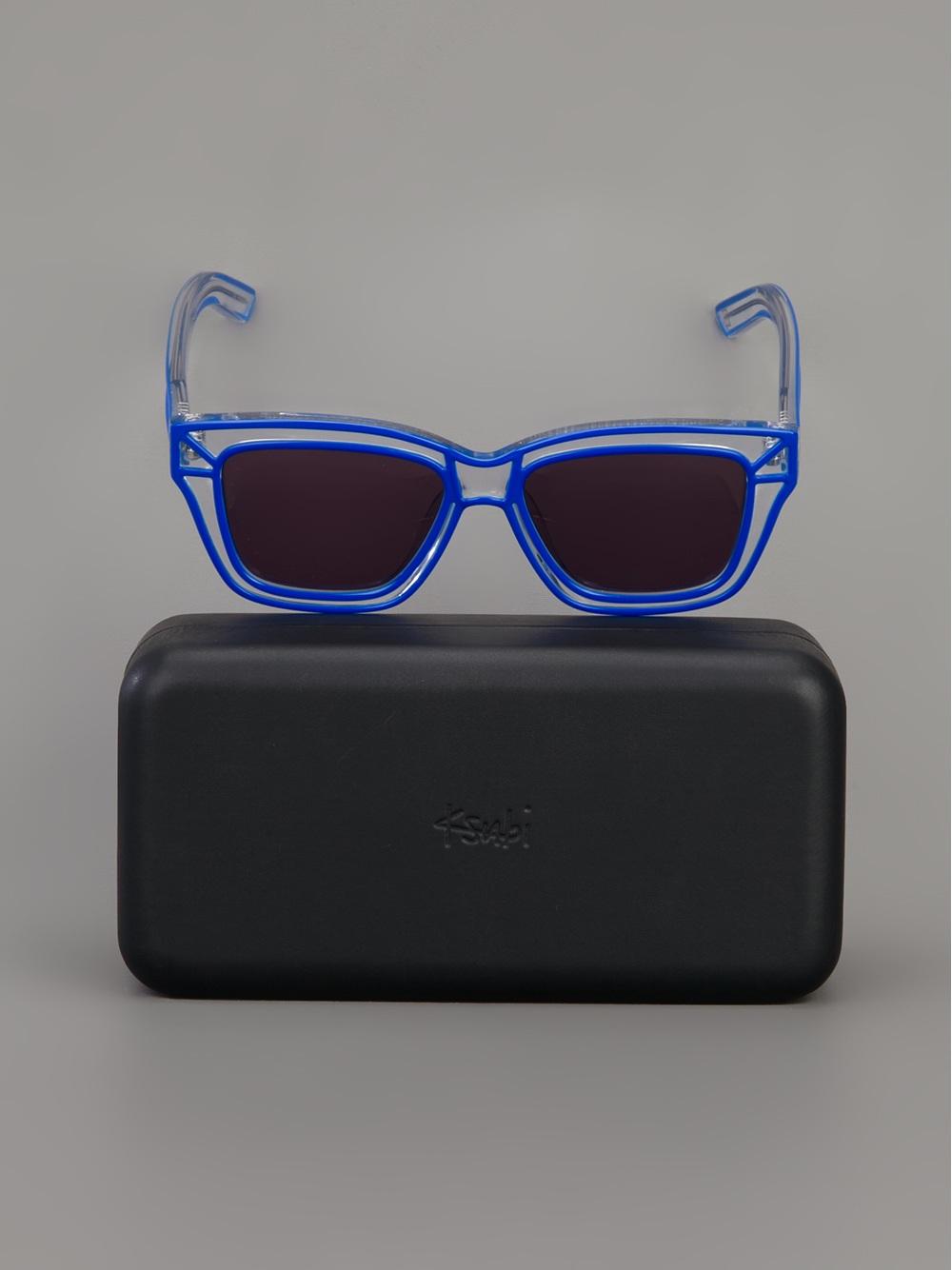 7dac894755 Lyst - Ksubi Sham Wayfarer Sunglasses for Men