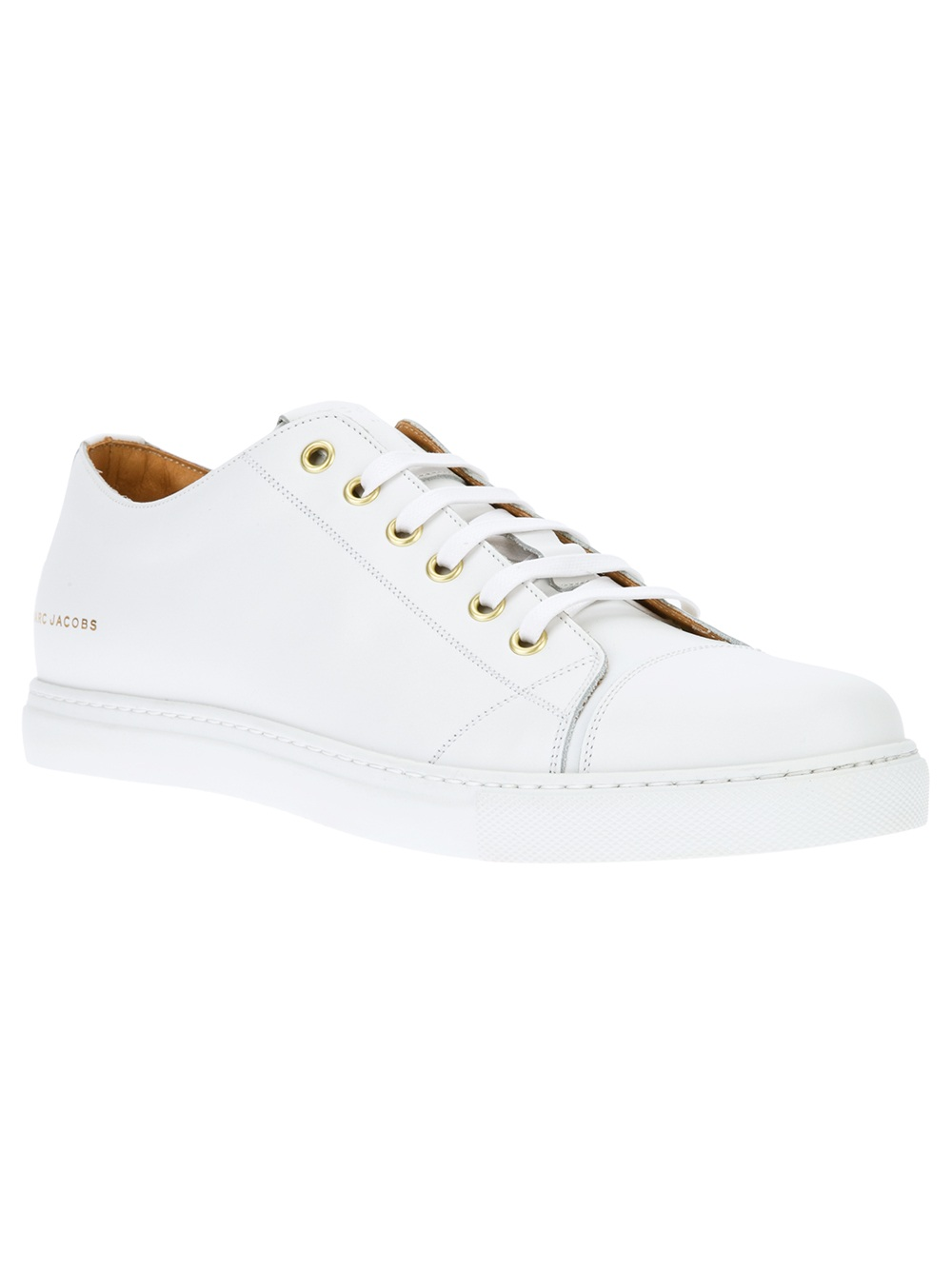 Marc Jacobs Leather Low Trainers kaX0FC2xCp