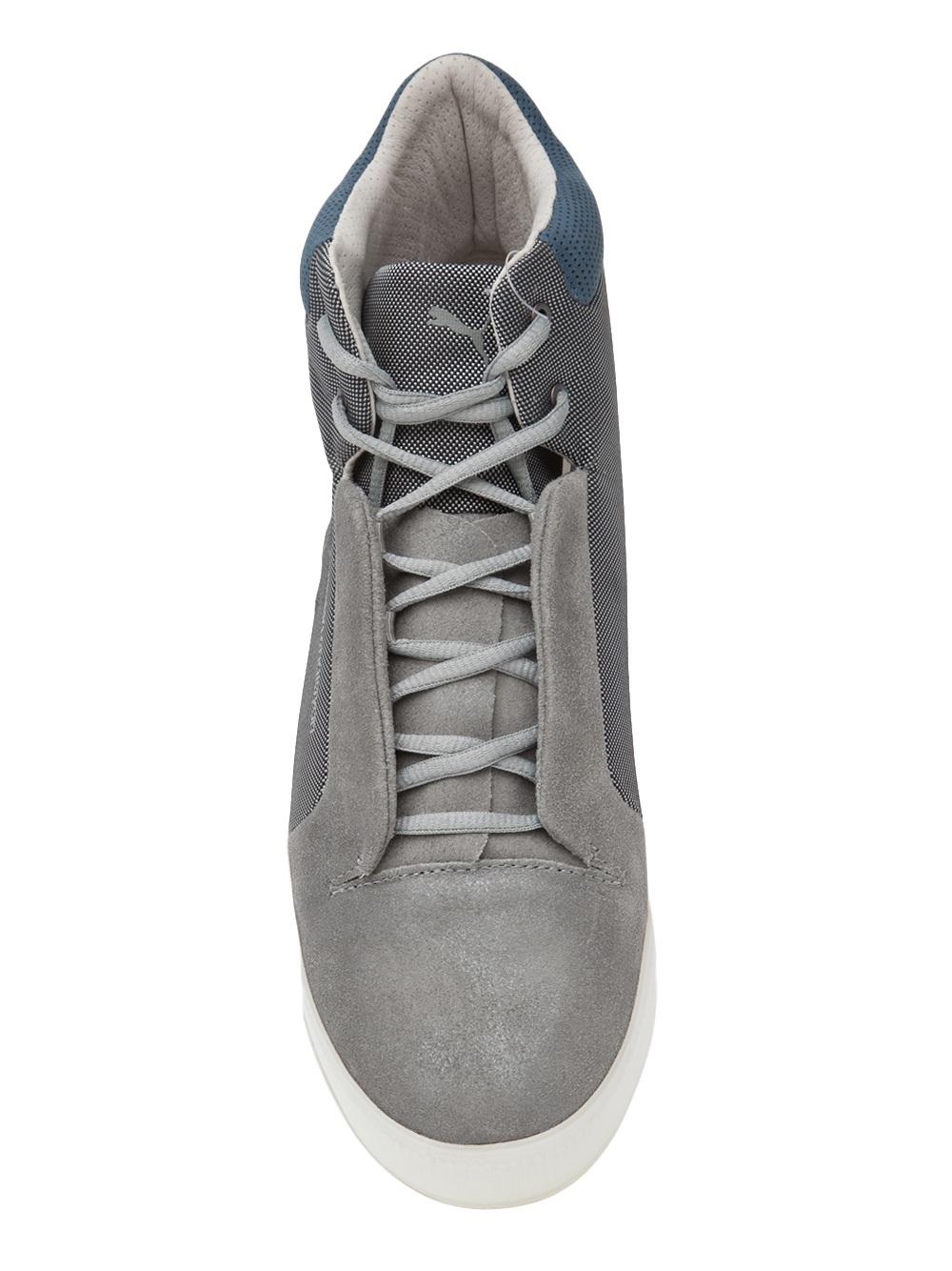 Puma Grey High Tops