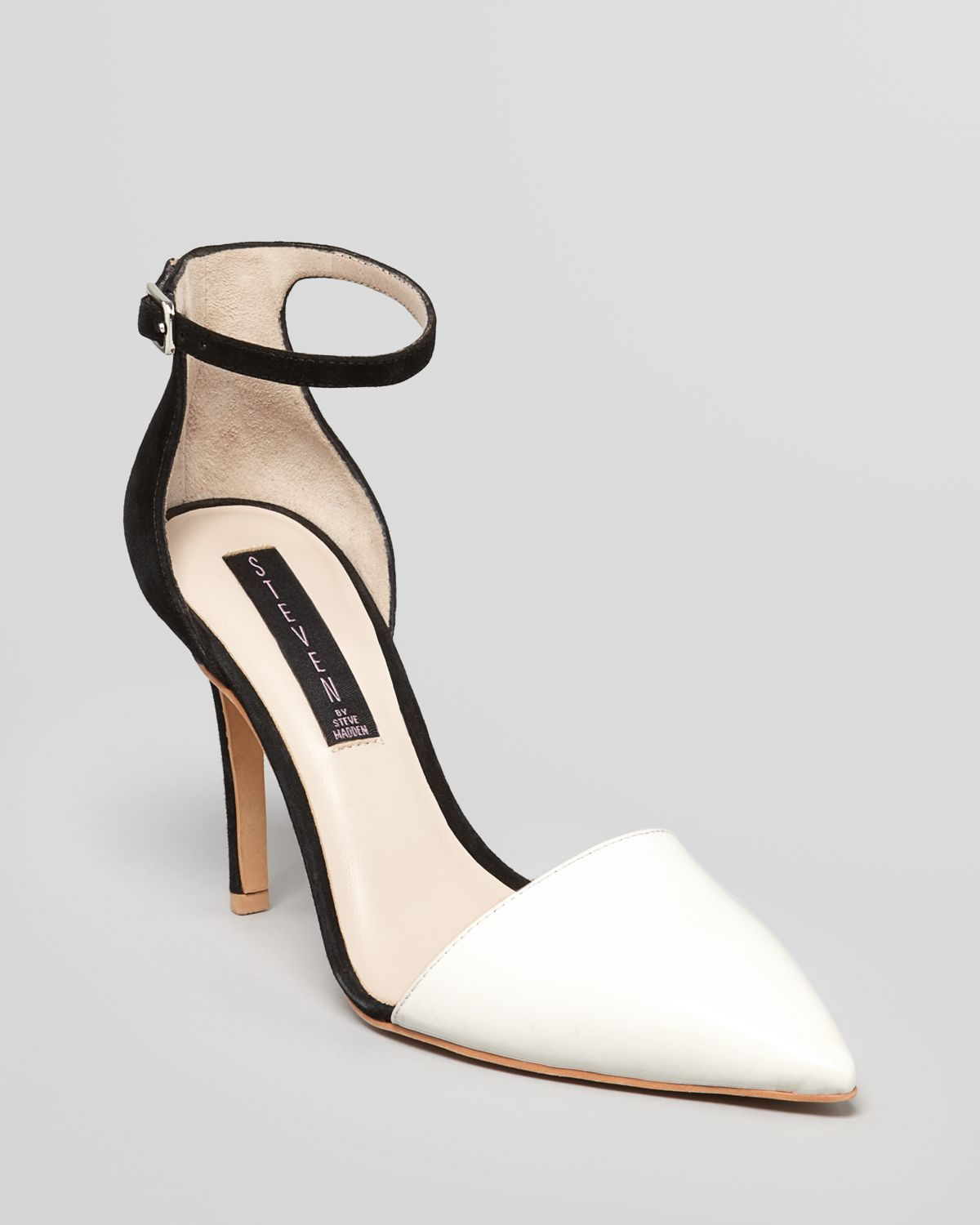 Lyst - Steven by steve madden Pointed Toe Pumps Anibell 2 Tone ...