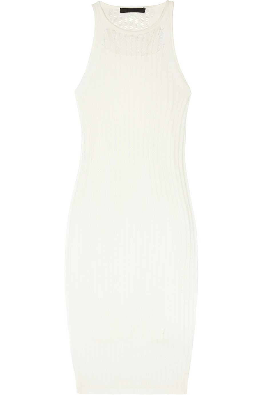 Cotton Knit Tank Dress