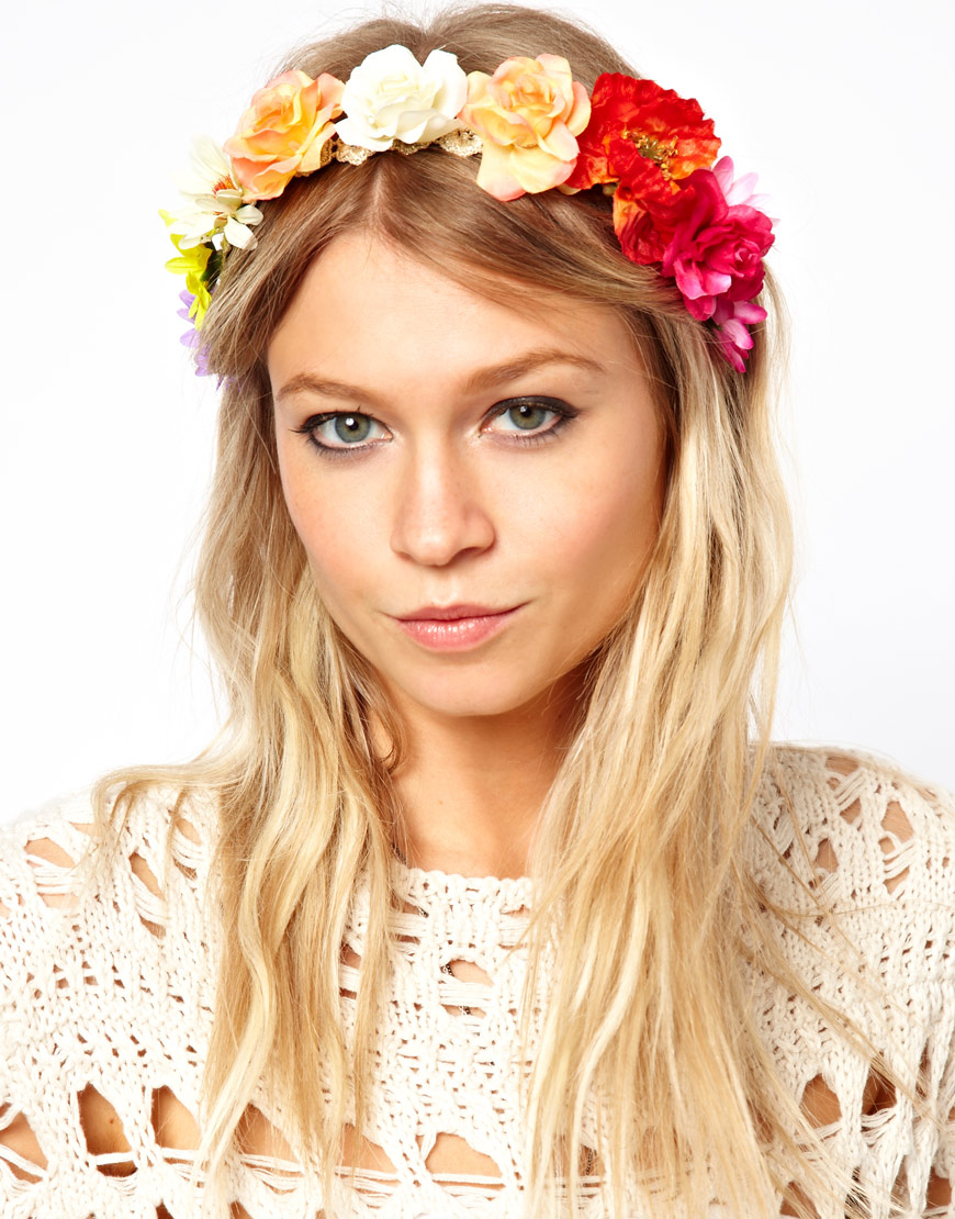Flower power glam meets girl we all know your festi wardrobe isnt complete without a floral headband so weve rounded up the best on the high street here izmirmasajfo