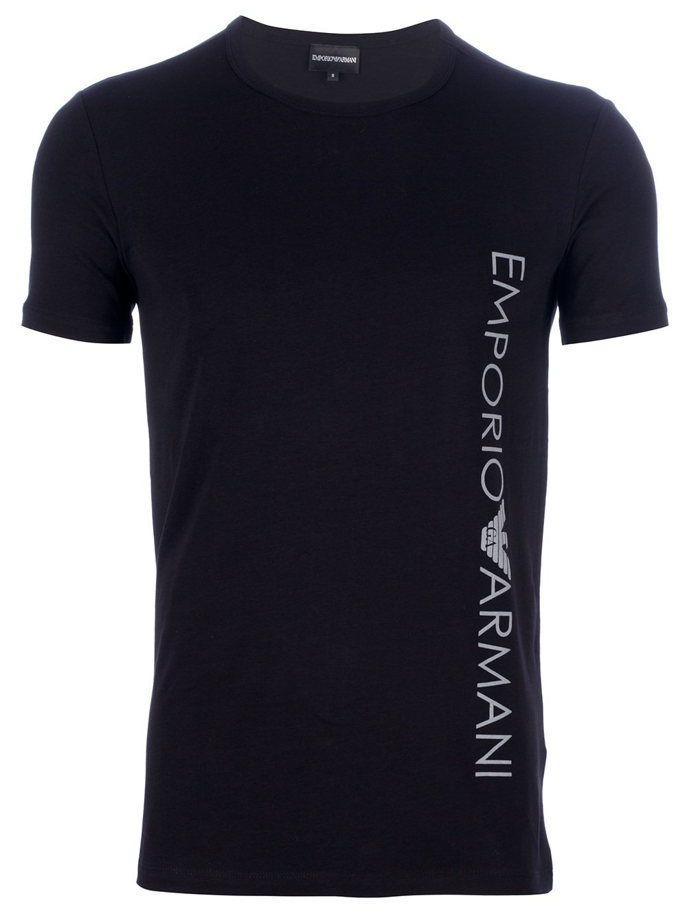Lyst Emporio Armani Logo T Shirt In Black For Men