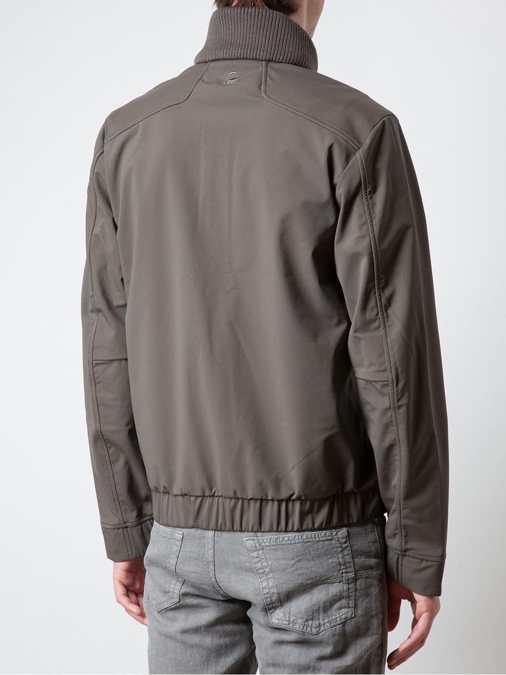 7e950bf20 Porsche Design Techno Driving Jacket in Gray for Men - Lyst