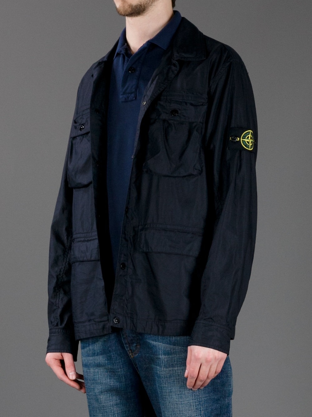 Stone Island Zip Up Jacket