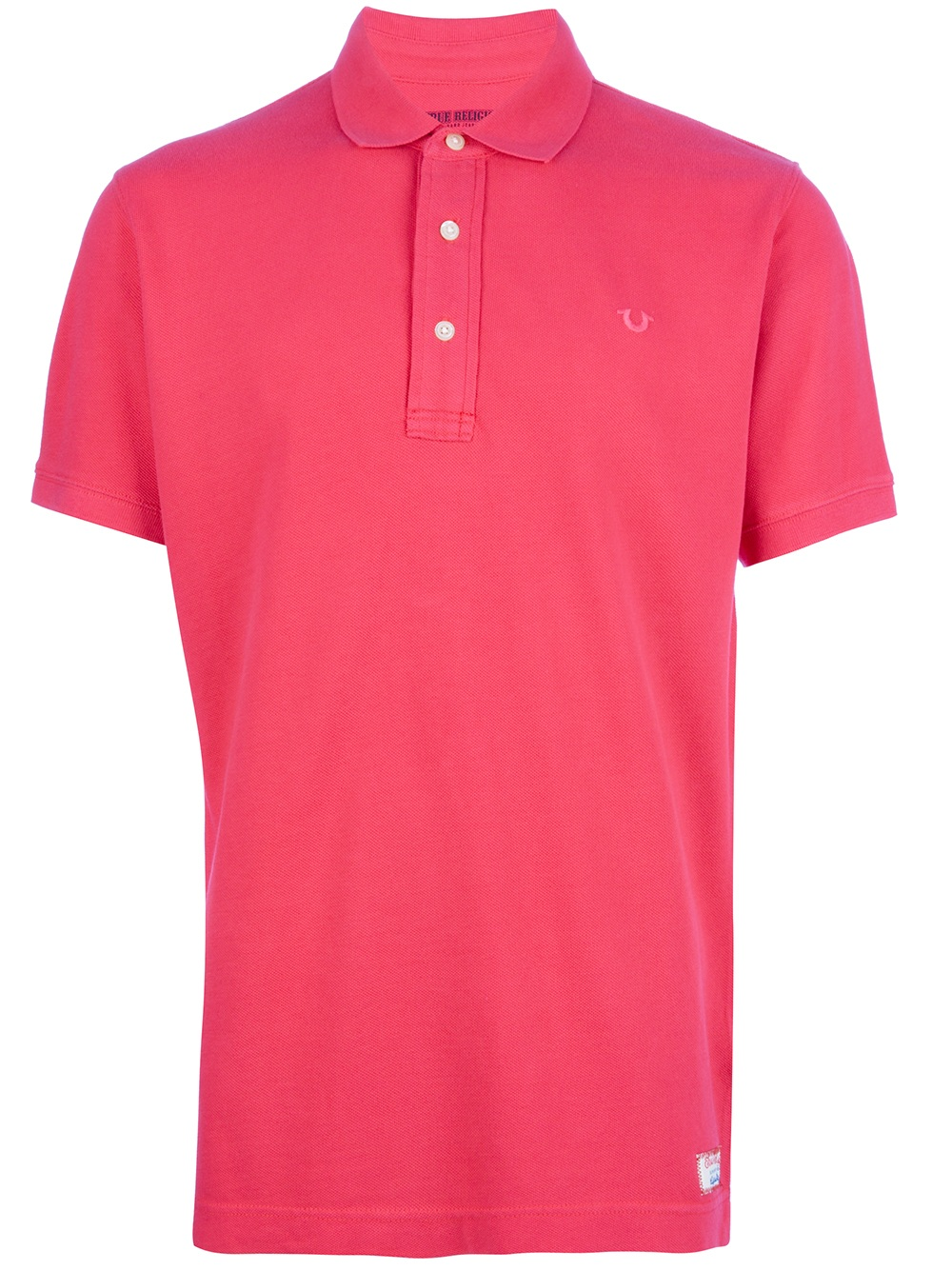 Lyst True Religion Classic Polo Shirt In Red For Men