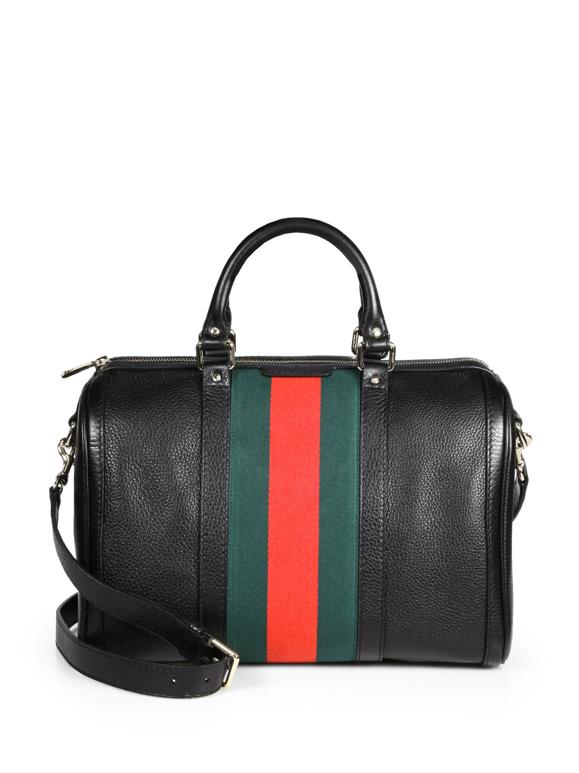 d216de1b9d46be Gucci Boston Bag Black | Stanford Center for Opportunity Policy in ...