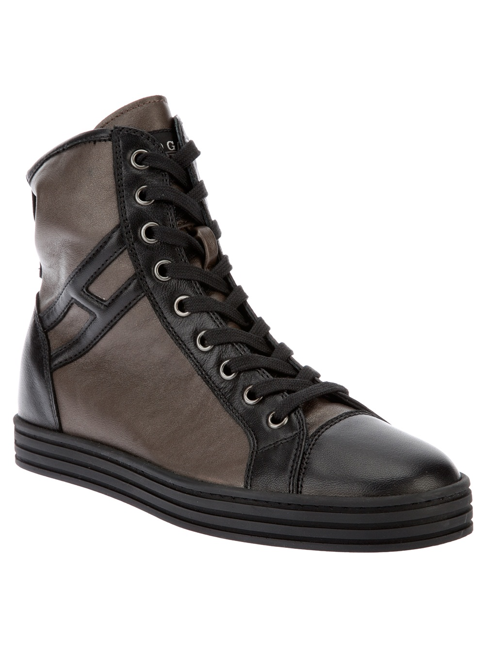 Hogan Rebel Hi Top Nere