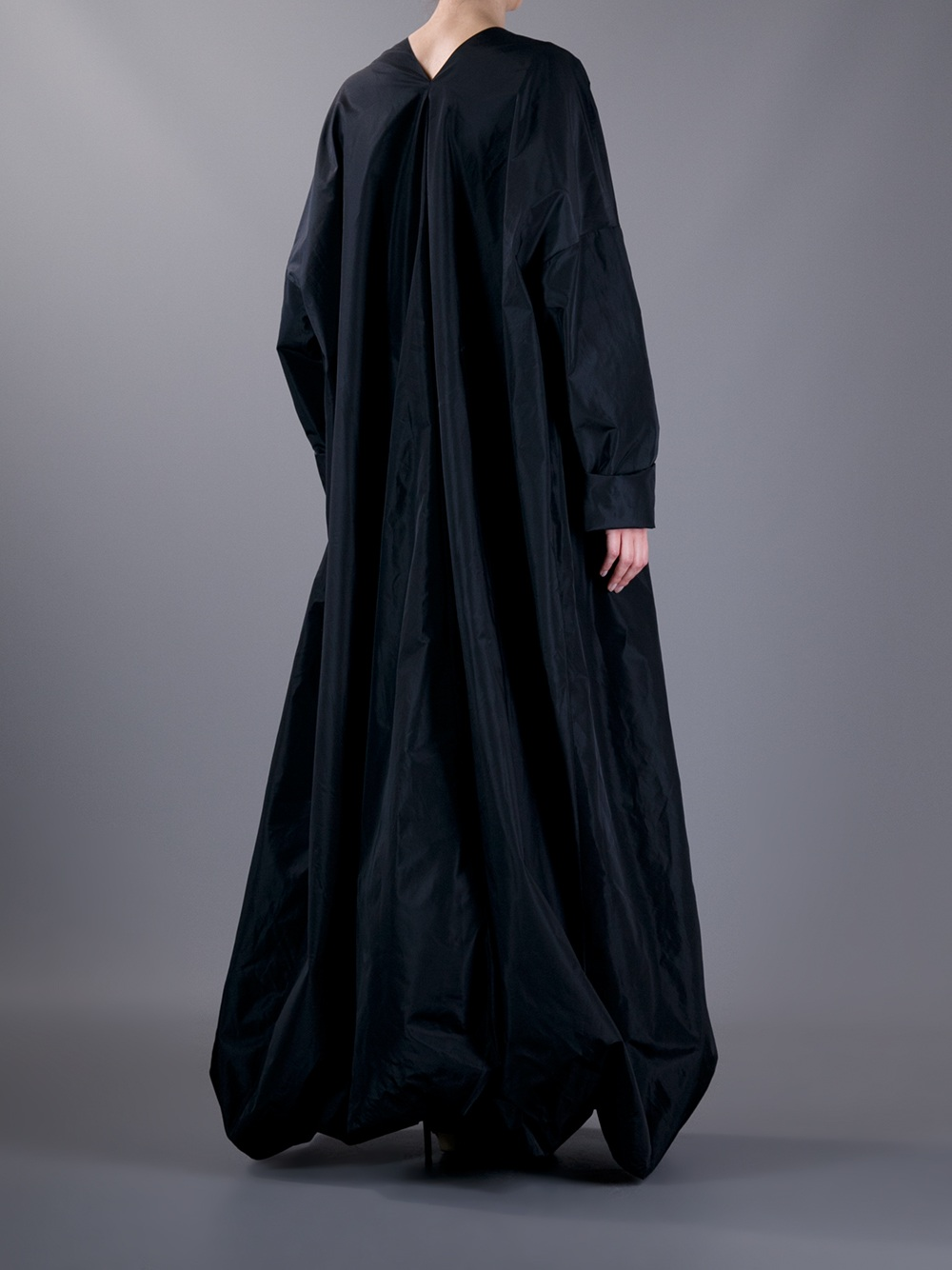 Lyst Jean Paul Gaultier Maxi Dress And Cape In Black