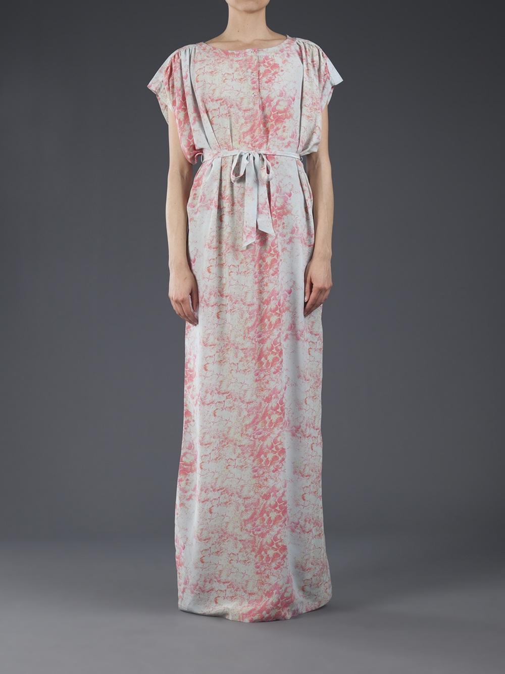 Tunic maxi dresses