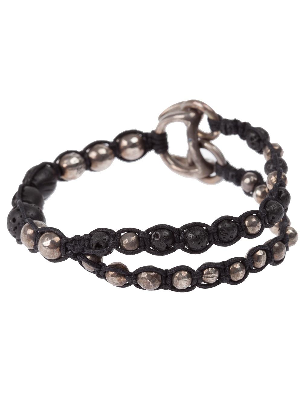 Tobias Wistisen mosaic bead bracelet - Black u5M9eKmS