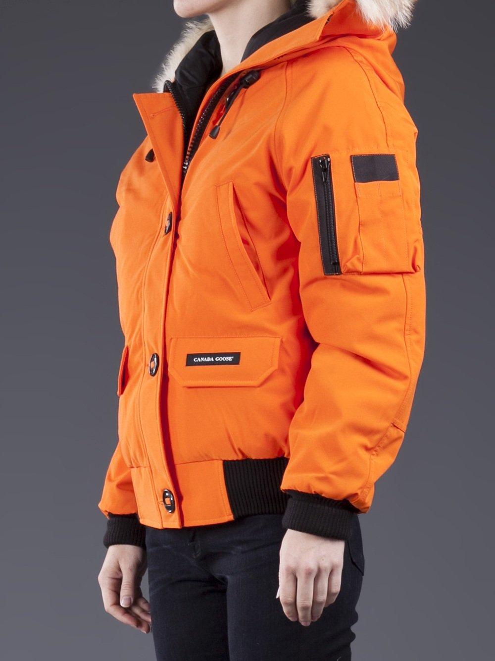 canada goose bomber orange
