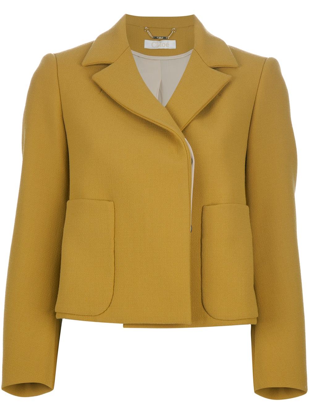 Chloé boxy jacket Sale Wholesale Price AeftDp8