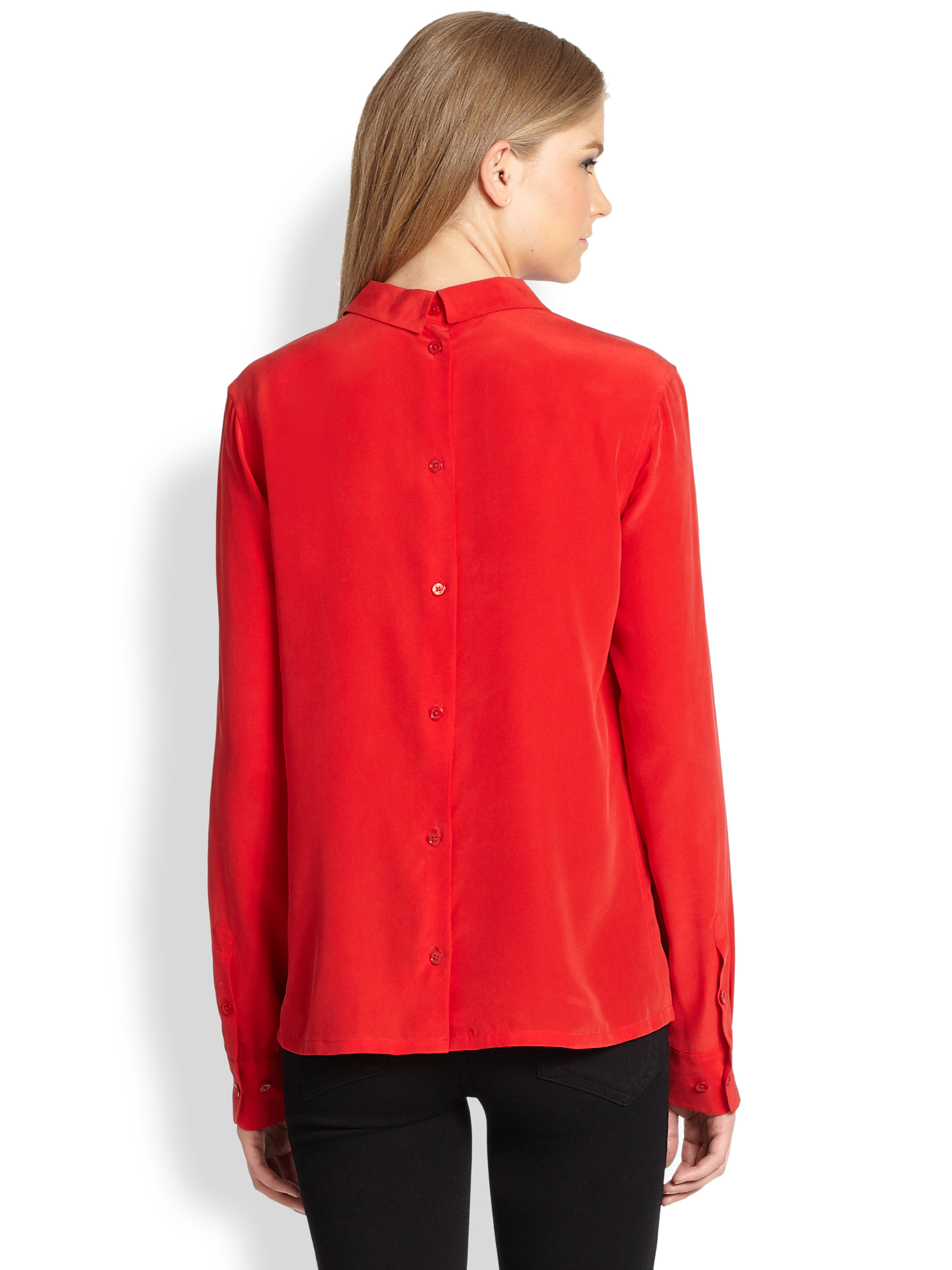 Find red silk blouse at ShopStyle. Shop the latest collection of red silk blouse from the most popular stores - all in one place.