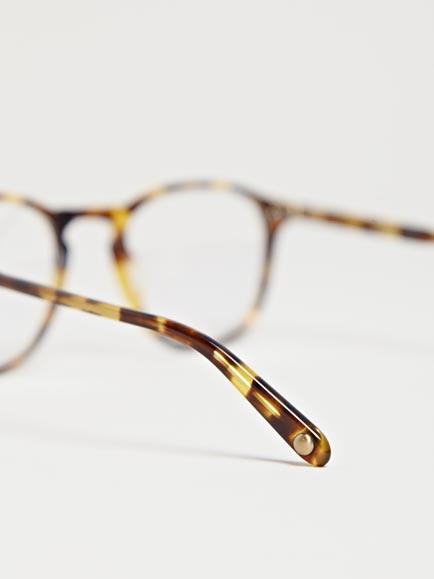 Lyst Garrett Leight Hampton Leopard Tortoise Glasses In