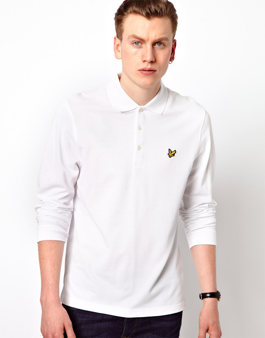 lyst native youth lyle scott vintage polo shirt with