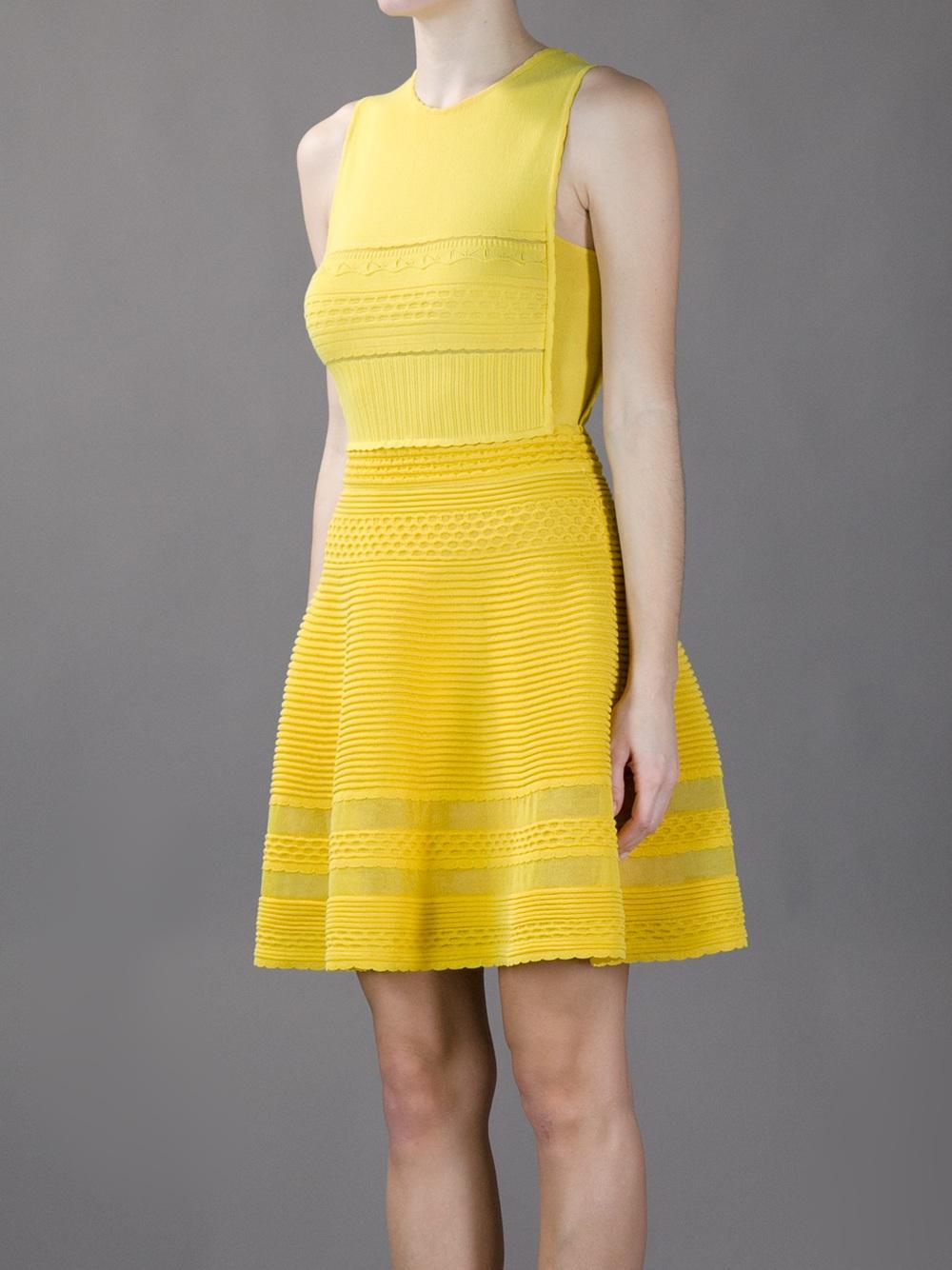 M missoni yellow dress.