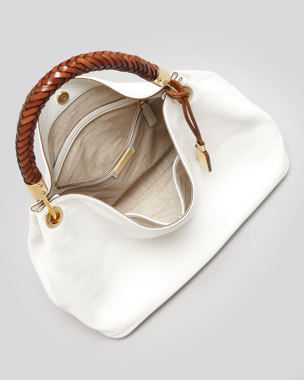 36226f63a209 Lyst - Michael Kors Large Shoulder Bag Skorpios in Brown