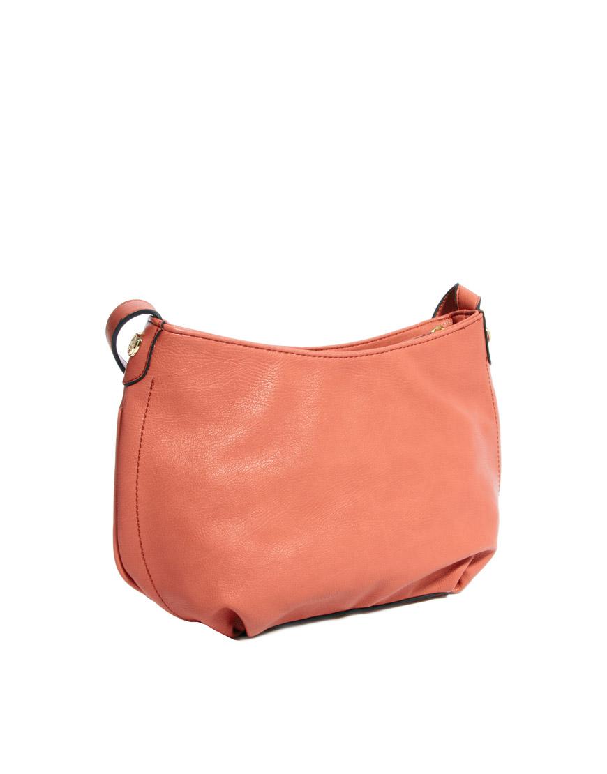 Mischa Barton Misha Hampton Cross Body Bag In Pink Lyst Python Mono Gallery