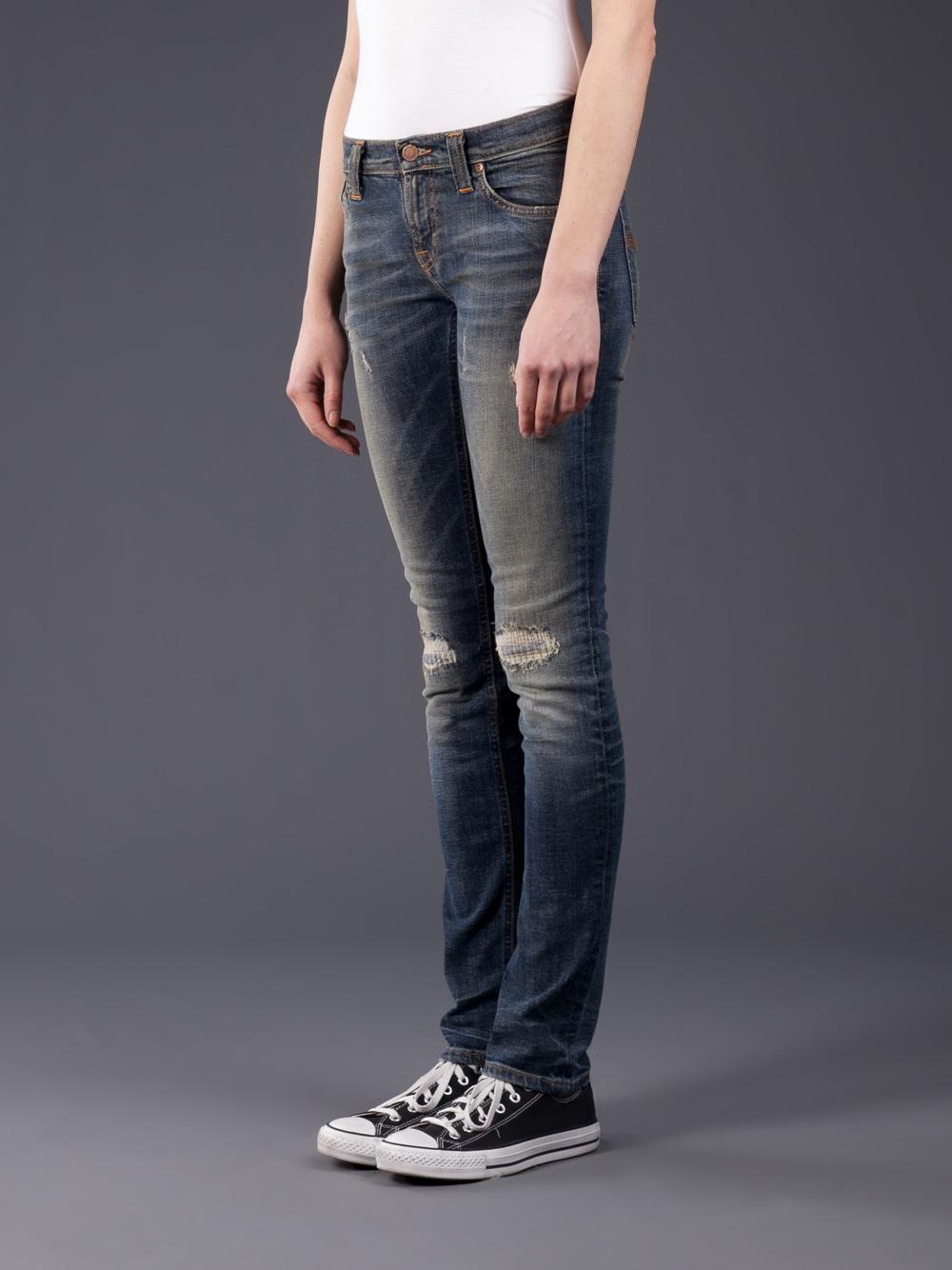 Lyst - Nudie Jeans Tight Long John in Blue f24c77351