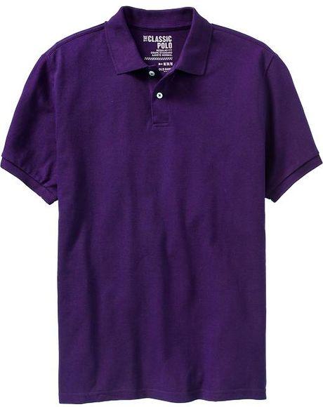 Navy uniforms navy uniform regulations sunglasses inside for Purple polo uniform shirts