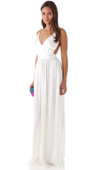 fc1c6a8b8c One by Contrarian Babs Bibb Maxi Dress – Fashion dresses