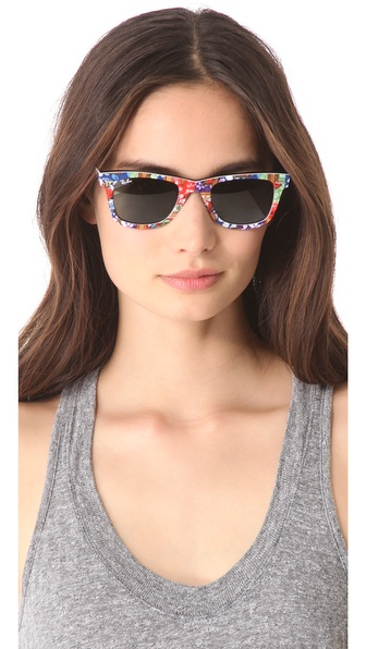 Lyst Ray Ban Special Edition Surfs Up Wayfarer Sunglasses