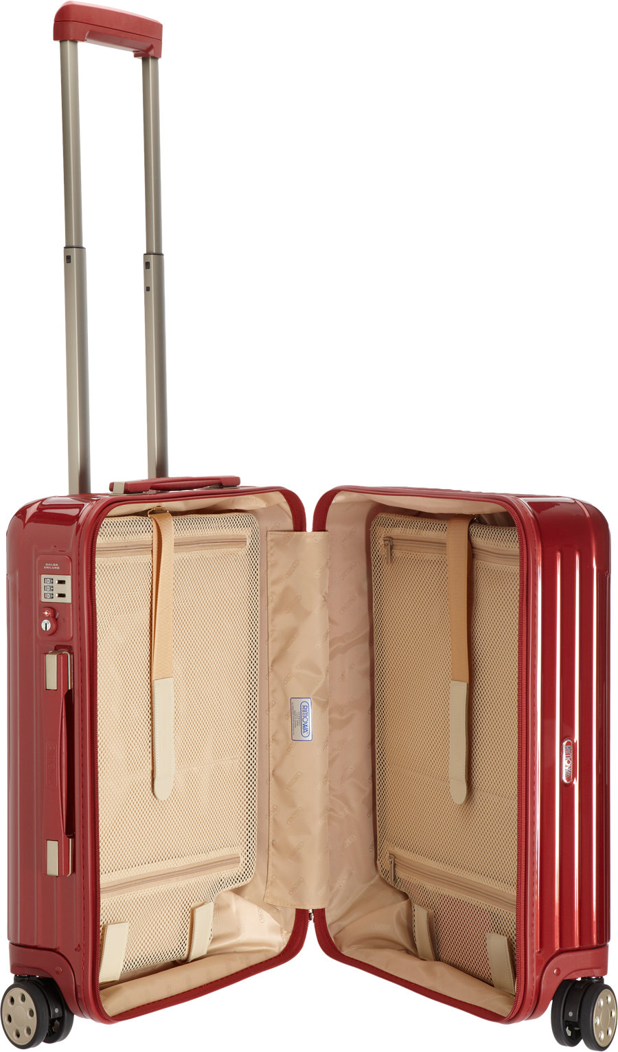 Lyst   Rimowa Salsa Deluxe Cabin Multiwheel In Red For Men