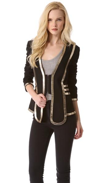 Lyst Sass Amp Bide Critics Choice Jacket In Black